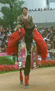女王杯の誘導馬 2.JPG