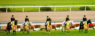 菊花賞の誘導馬 4.JPG