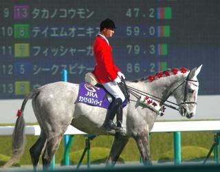 12 月 12日 5R の誘導馬 1.JPG